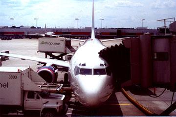 boeing 737 at atlanta airport georgia